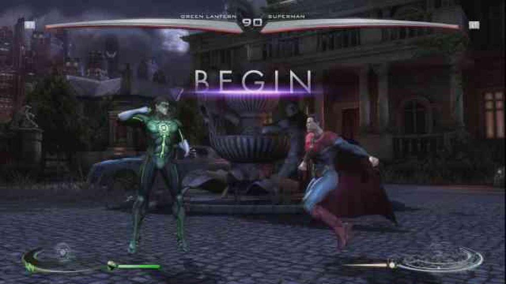 Injustice Gods Between Us download game free