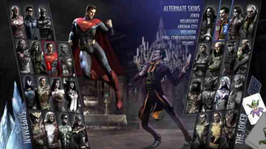 Injustice Gods Between Us download pc