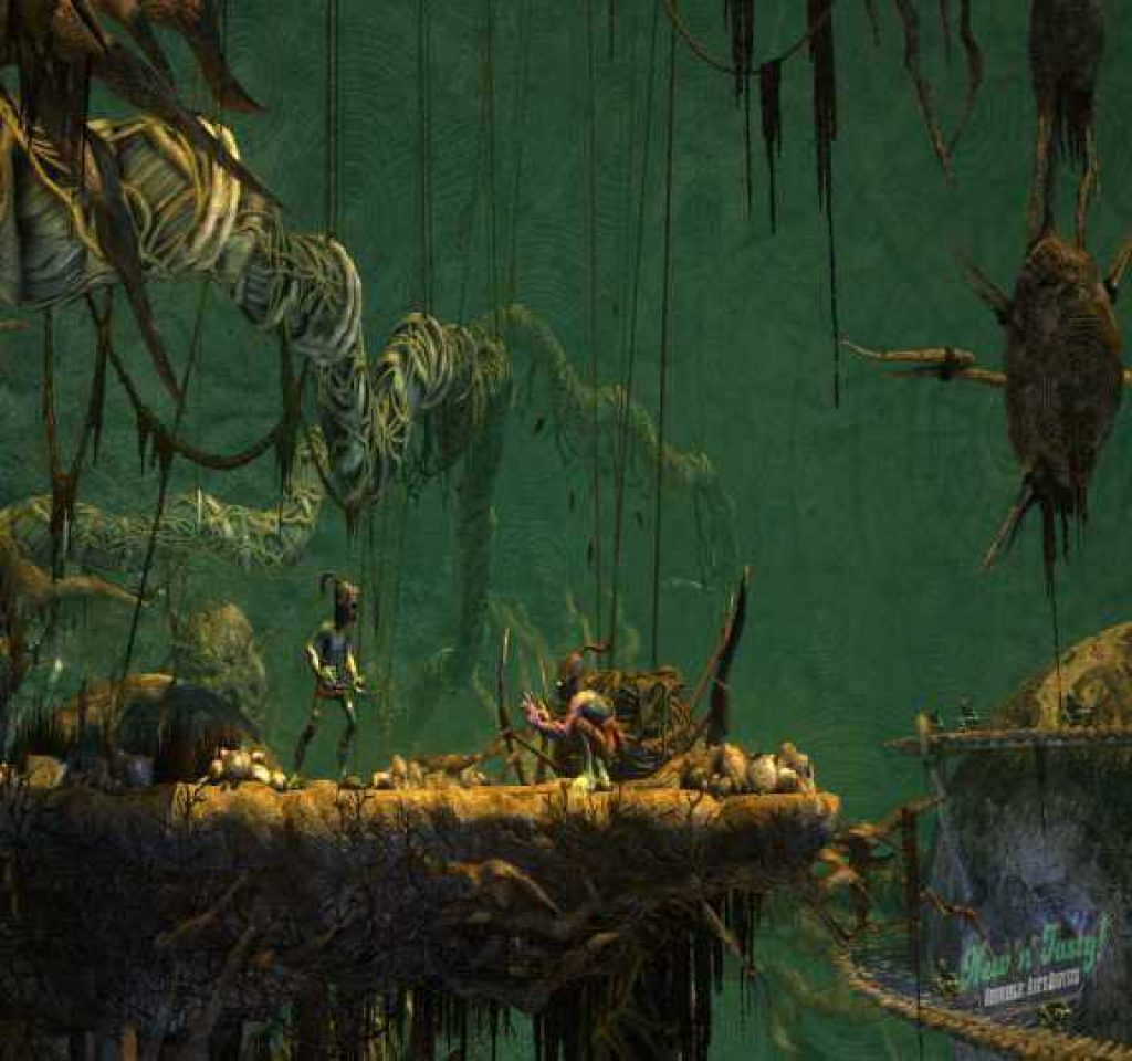 ODDWORLD ABES ODDYSEE NEW N TASTY download pc game