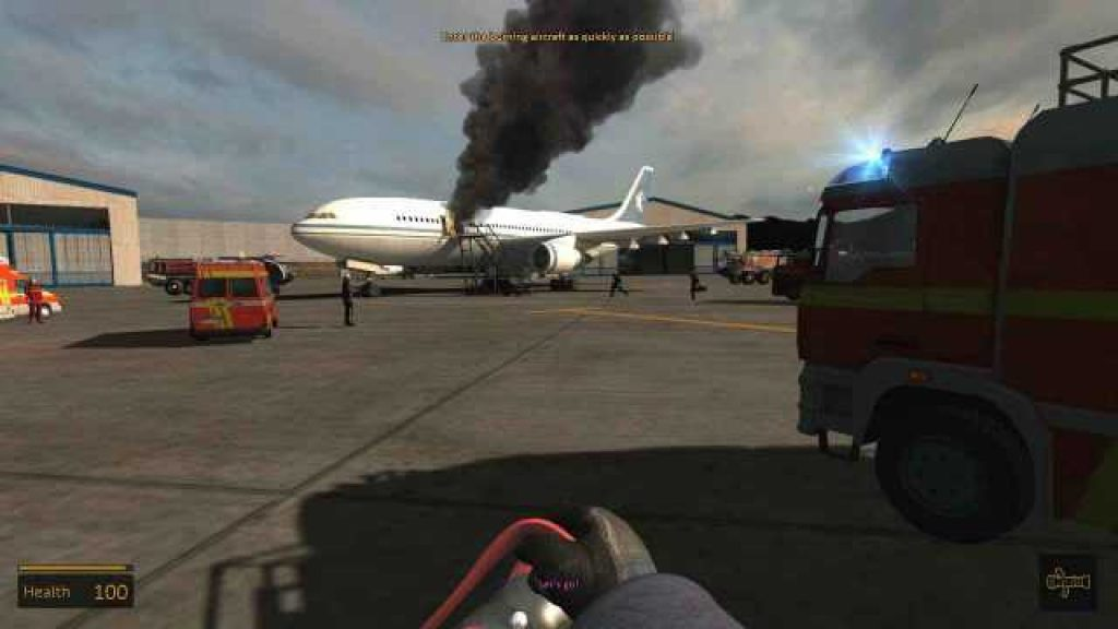 airport firefighter simulator download pc game