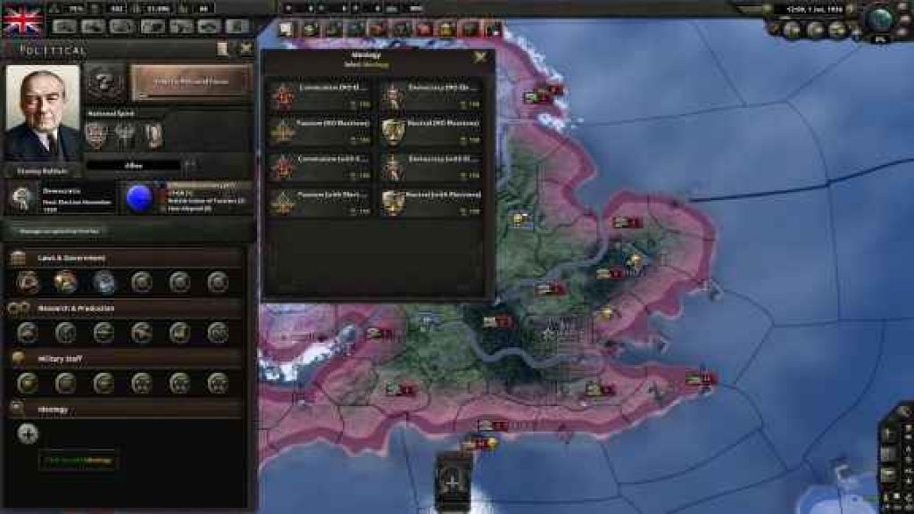HEARTS OF IRON IV ALLIED ARMOR free download pc game