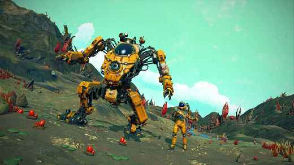 no mans sky exo mech free download pc game