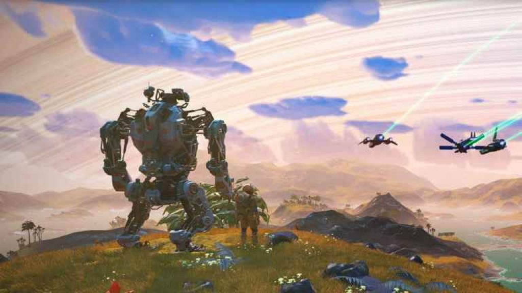 no mans sky exo mech pc download