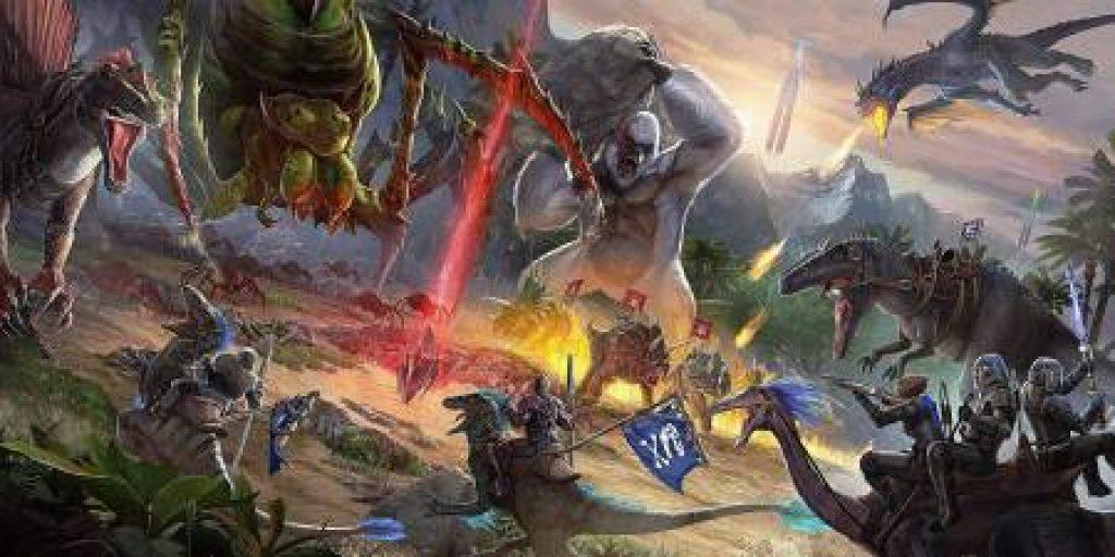 Ark Survival Evolved download pc game