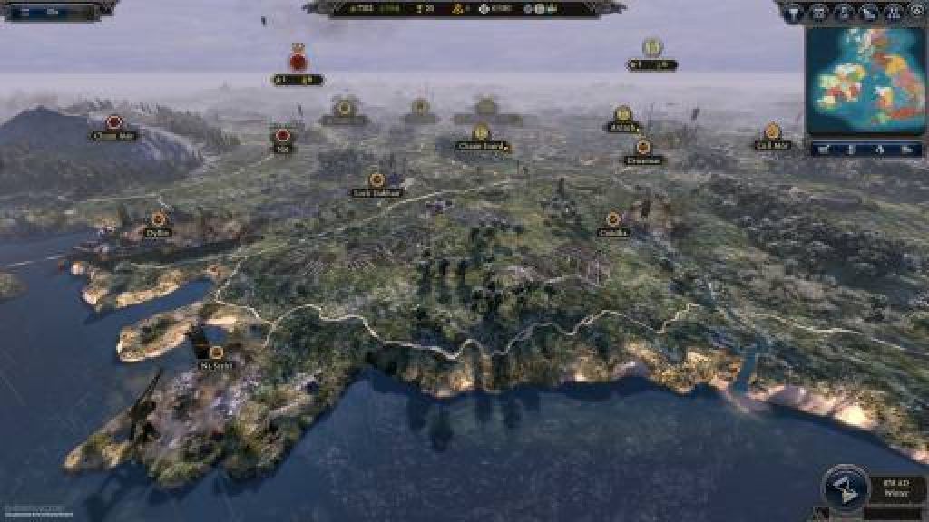 Total War Saga Thrones of Britannia game download for pc