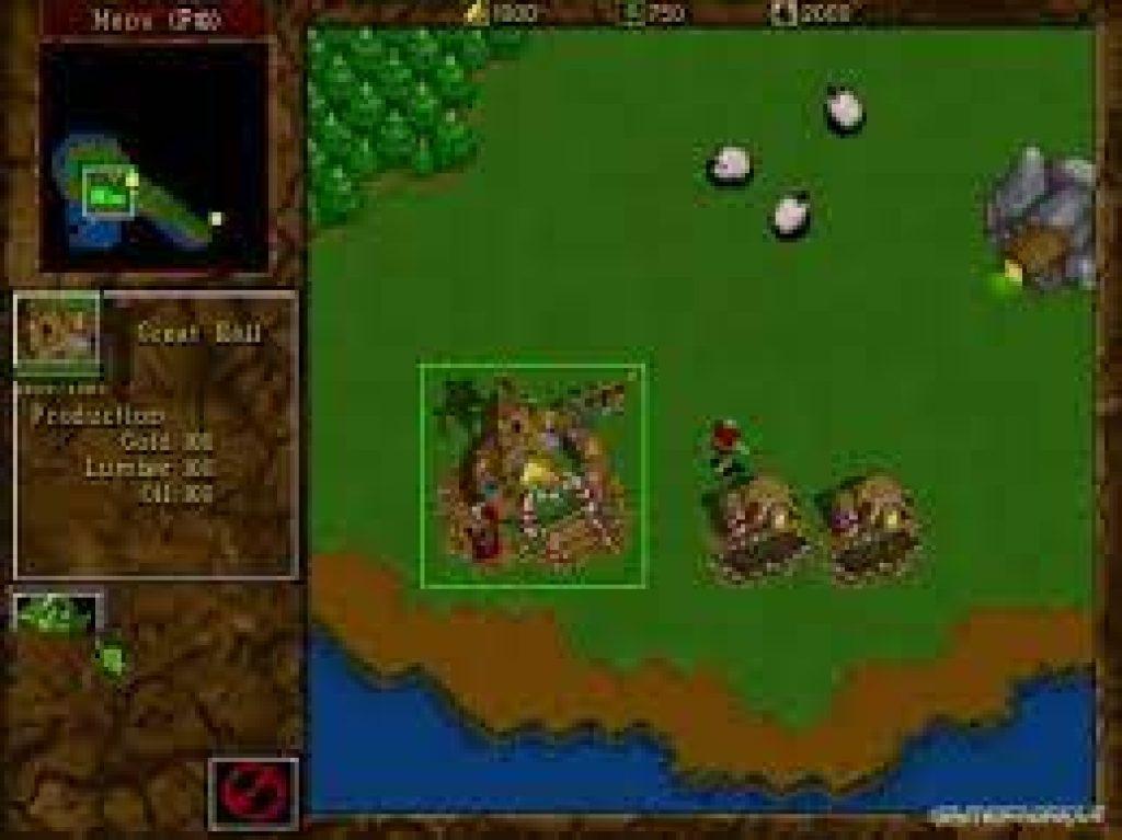 warcraft 2 tides of darkness download pc game